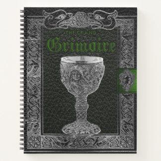 影の壮大なGrimoireの魔法使いの本 ノートブック