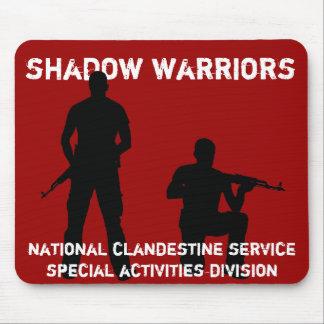 影の戦士- CIAの国民の秘蜜サービス マウスパッド