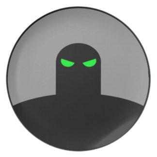 影の殺害のプレート プレート