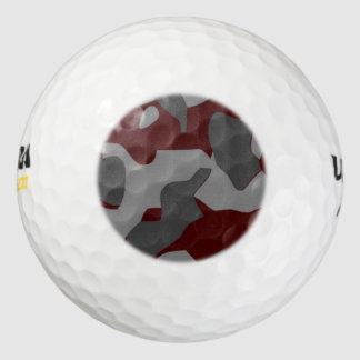 影の迷彩柄 ゴルフボール