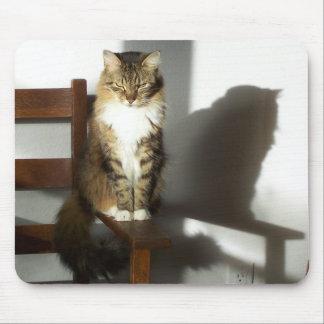 影猫 マウスパッド