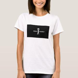 影響あなた自身のワイシャツ-女性 Tシャツ