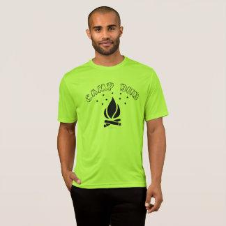 影響のキャンプのBubの最高のワイシャツ Tシャツ
