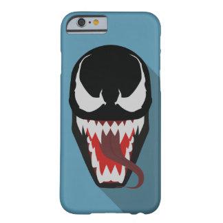影BGが付いている毒液の絵の電話箱 BARELY THERE iPhone 6 ケース