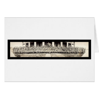 役人のGalveston WWIの写真1913年 カード