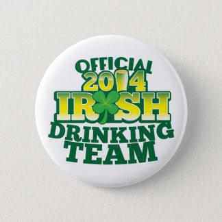 役人2014のアイルランドの飲むチーム 缶バッジ