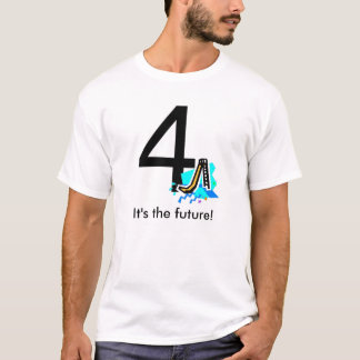 役人4のスライドのTシャツ Tシャツ