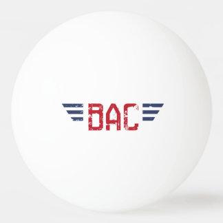 役人BAC BPの球 卓球ボール