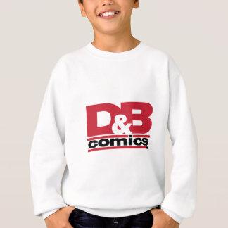役人D及びBの漫画のロゴの服装 スウェットシャツ