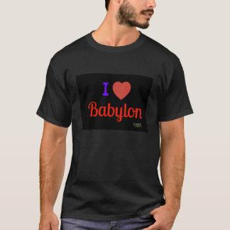 役人I愛バビロンのワイシャツ Tシャツ