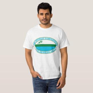 役人LABRADORIANビール飲むワイシャツ Tシャツ