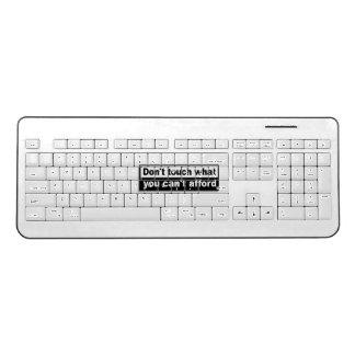 役人Theraider6の無線電信のキーボード ワイヤレスキーボード