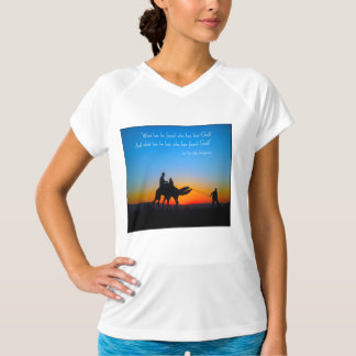 彼が見つけ、失ったある何が-イスラム教のQuotableワイシャツ Tシャツ