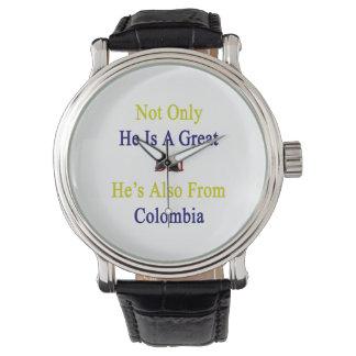 彼だけ彼によってがコロンビアからまたあるすばらしいパパです 腕時計