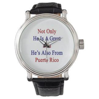 彼だけ彼によってがプエルトRからまたあるすばらしいパパです 腕時計