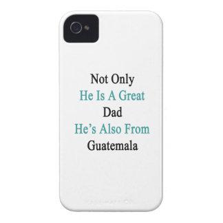 彼だけ彼によってがGuatemalからまたあるすばらしいパパです Case-Mate iPhone 4 ケース