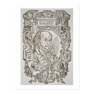 彼のからのジョバンニBattistaのdella Porta (1535-1615年) ポストカード