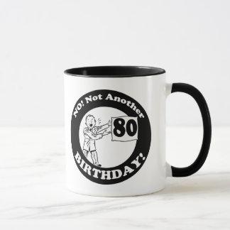 彼のない私の第80誕生日プレゼント マグカップ