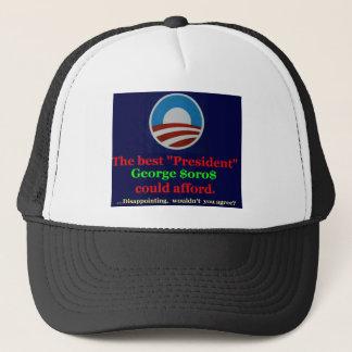 彼のサポートのためにジョージを感謝していして下さい! キャップ