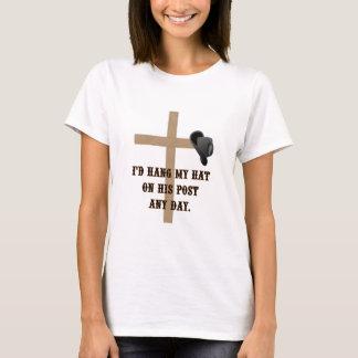 彼のポストのTシャツ Tシャツ