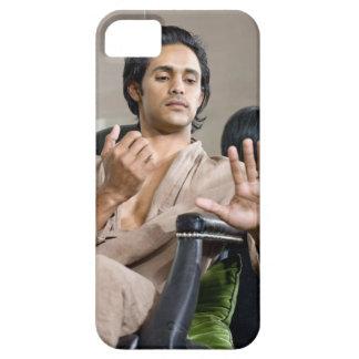 彼のマニキュアを賞賛している人 iPhone SE/5/5s ケース
