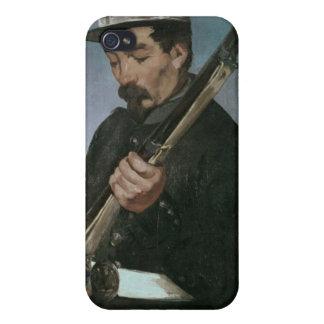 彼のライフルを握っている非Commissonedの役人 iPhone 4/4S ケース