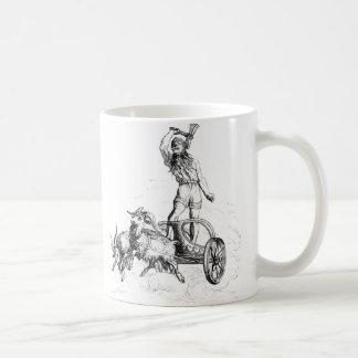 彼の一人乗り二輪馬車のトール コーヒーマグカップ