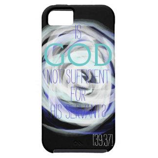 彼の使用人のためにIphone十分ではない神はあります iPhone SE/5/5s ケース