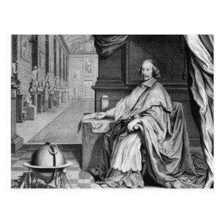 彼の宮殿の基本的なMazarinのポートレート ポストカード