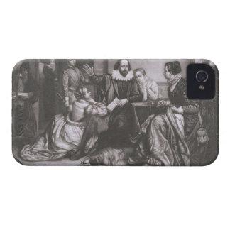 彼の家族を持つシェークスピア、Stratfordで、Recitin Case-Mate iPhone 4 ケース