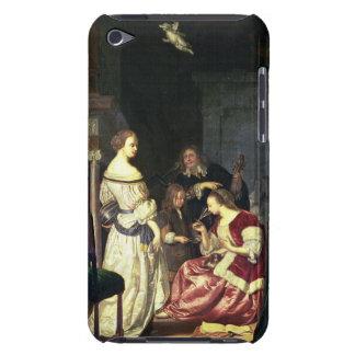 彼の家族1675年を持つペインター(パネルの油) Case-Mate iPod TOUCH ケース