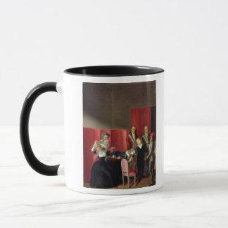 彼の家族、1793年7月3日から取られるDauphin マグカップ