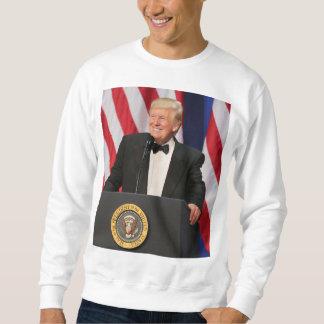 彼の就任式のドナルド・トランプ大統領 スウェットシャツ