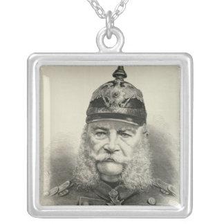彼の帝国皇族ウィリアムI シルバープレートネックレス