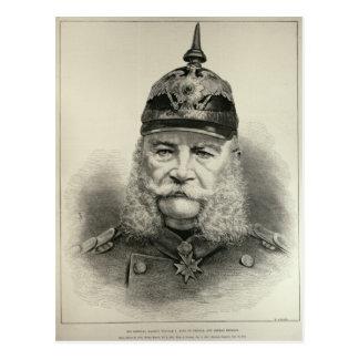 彼の帝国皇族ウィリアムI ポストカード