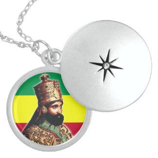 彼の帝国皇族皇帝Haile Selassie I ロケットネックレス