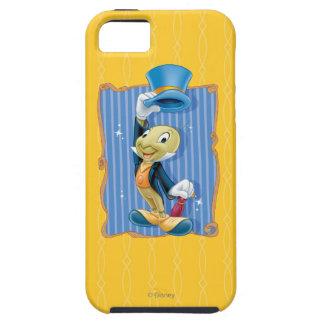 彼の帽子を持ち上げるJiminyのコオロギ iPhone SE/5/5s ケース