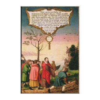 彼の弟子を教えているキリスト キャンバスプリント