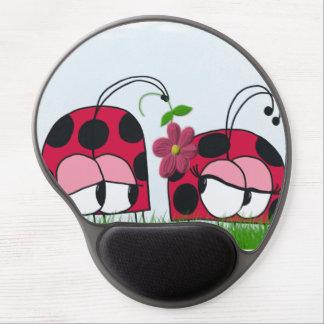 彼の新しい愛~のゲルのマウスパッドに懇願しているてんとう虫 ジェルマウスパッド