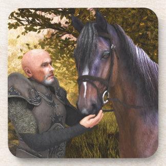 彼の気高い馬-騎士および彼の馬 コースター