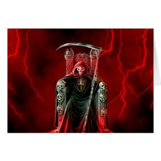 彼の王位の誕生日の死神 カード