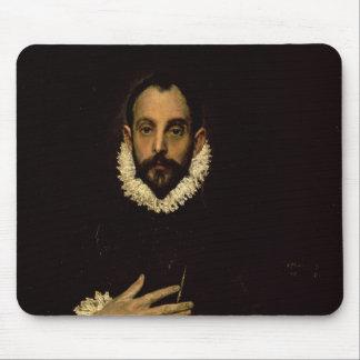彼の箱の彼の手を搭載する紳士、c.1580 マウスパッド