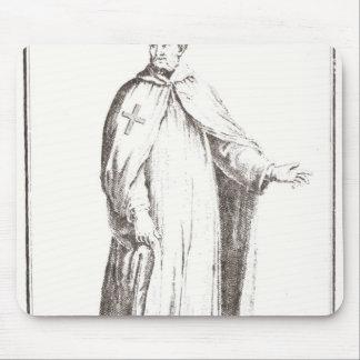 彼の習慣のTemplar: 平野との白 マウスパッド