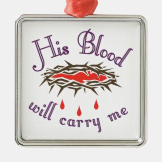 彼の血 メタルオーナメント