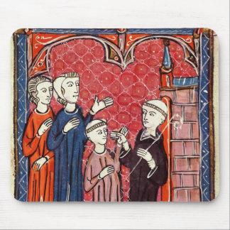 彼の親によって修道院に持って来られる子供 マウスパッド