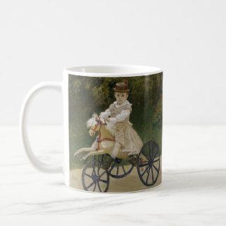 彼の趣味の馬のジーンMonet コーヒーマグカップ