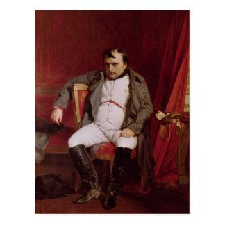 彼の退位の後のナポレオン ポストカード