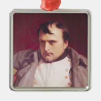 彼の退位の後のナポレオン メタルオーナメント
