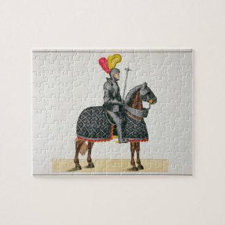 彼の馬の装甲、「Histoからのプレートでナイト爵に叙して下さい ジグソーパズル