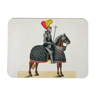 彼の馬の装甲、「Histoからのプレートでナイト爵に叙して下さい マグネット